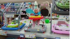 Babies for sale at Walmart?