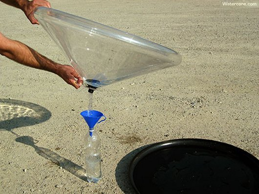 5a7f3  ingenius watercone fresh water device invention awesome4 Watercone Invention Makes Fresh Water Cheaply