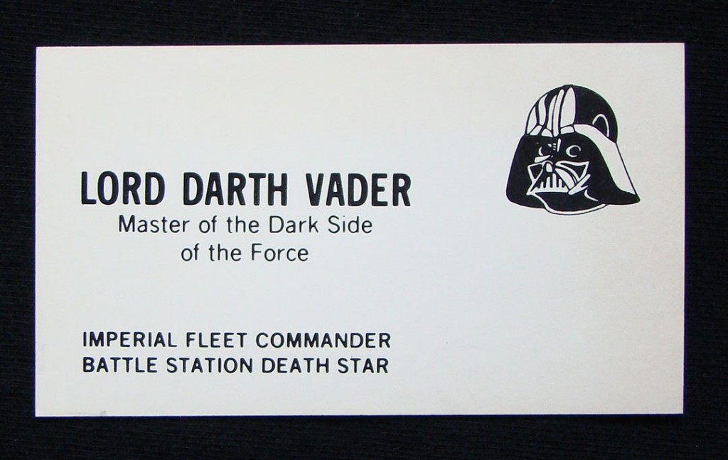 star wars business cards 1 1024x647 Hilarious Star Wars Business Cards